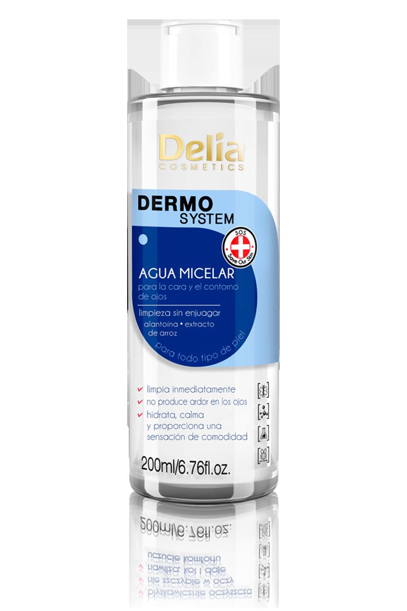 Agua micelar para la cara y el contorno de ojos – Delia Colombia